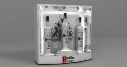 Глорифаер для водки - предназначен для премиальной презентации продукции