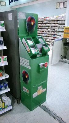 Рекламная стойка для лекарств - предназначена для продвижения и выкладки товара в местах продаж