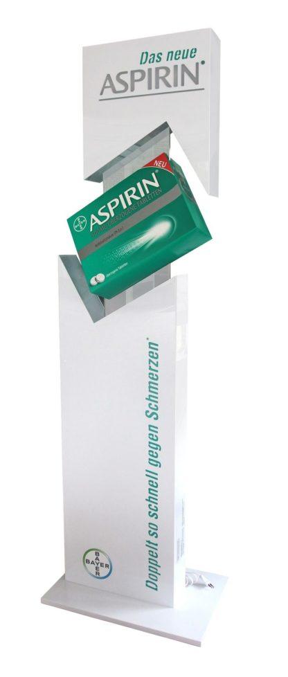 Рекламная стойка для лекарств - предназначена для продвижения продукции