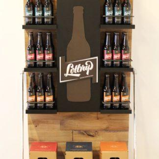 Рекламная стойка для пива - предназначена для продвижения и выкладки товара в местах продаж