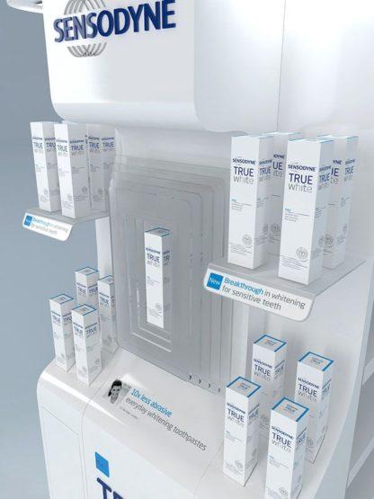 Рекламная стойка для средств ухода - предназначена для продвижения и выкладки товара