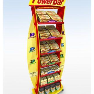 Рекламная стойка для энергетических батончиков - предназначена для продвижения и выкладки товара в местах продаж