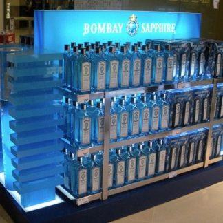 Стеллаж для джина - предназначен для продвижения и выкладки товара в местах продаж