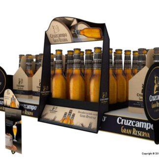 Шелфорганайзер для пива - предназначение для группировки и демонстрации товара на полках