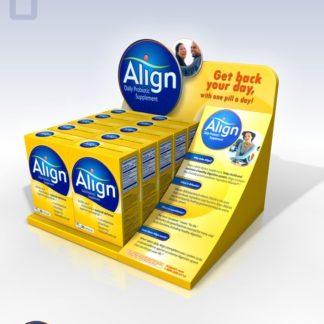 Настольный дисплей для лекарств - предназначен для продвижения и выкладки продукции в местах продаж