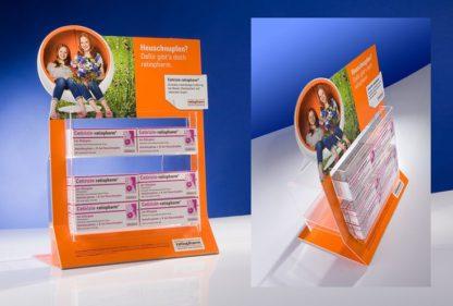 Прикассовый дисплей для лекарств - предначначен для продвижения и выкладки продукции в прикассовой зоне