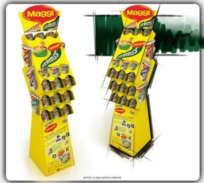 Рекламная стойка для приправ - предназначена для продвижения и выкладки товара в местах продаж