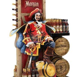 Рекламная стойка для рома - предназначена для продвижения и выкладки товара в местах продаж