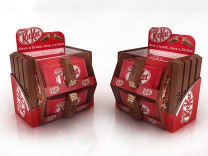 Шелфорганайзер для шоколадок - предназначен для группировки и демонстрации товара на полках