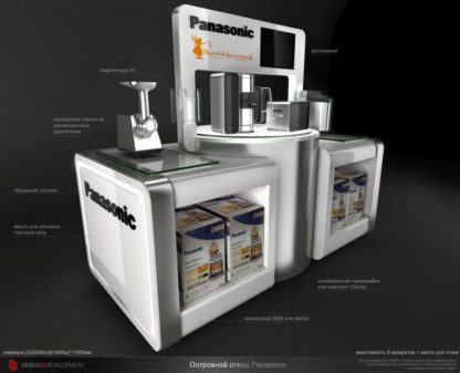 Бренд-зона Предназначена для демонстрации и продвижения различных видов продукции одного бренда