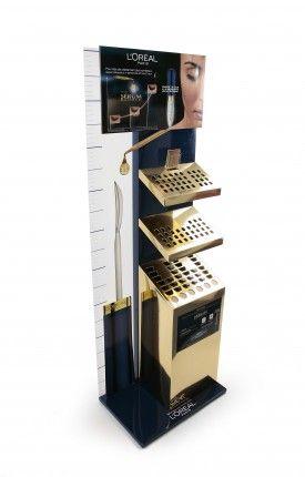Рекламная стойка Предназначена для выкладки продукции в местах продаж